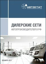 Dealer networks of car manufacturers in Russia