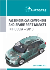 Passenger car component and spare part market in Russia - 2013