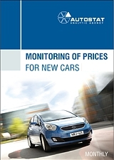 Monitoring of prices for new cars in 2012