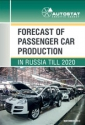 Forecast of passenger car production in Russia till 2020