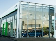 Skoda has opened 45 dealers in Russia in the new corporate style