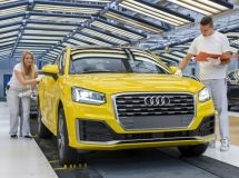 Audi has started the production of a new compact crossover Audi Q2