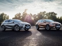 Infiniti Q30 opened configuration for the Russian market
