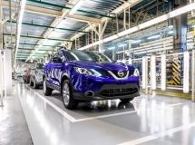 St. Petersburg plant Nissan resumes the work after summer vacation