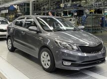 Production of KIA Rio in Russia for the first 9 months was about 67.5 thousand cars