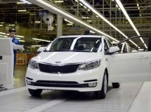 In Russia, it was produced the 500 thousandth car KIA Rio