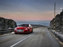 Audi announced the start of sales of the new sports coupe S5 in Russia
