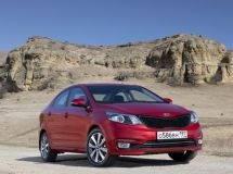 KIA Rio in October remained the best selling model in Russia