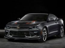 Chevrolet brought in Russia the anniversary special series Camaro