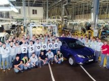 St. Petersburg plant Nissan has produced the 250,000th car