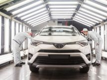St. Petersburg plant Toyota went to work in two shifts