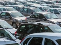 "The Russian car market went ""in a plus"" for the first time in two years in November"