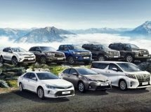 Toyota in 2016 took the record share in the Russian market