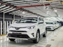 St. Petersburg plant Toyota increased the production by 19% in 2016