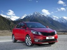 KIA Rio - is the market leader in seven Russian cities with million-population