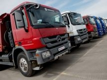 Sales of Mercedes-Benz trucks increased by 40% in Russia in 2016