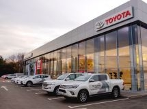 Sales of Toyota cars on credit for the year increased 1.5 times