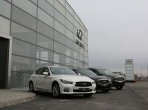 Infiniti increased the sales by 34% in Russia in February