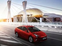 The new Toyota Prius start sales in the Russian market
