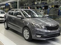 St. Petersburg plant Hyundai has started the test production of the new KIA Rio