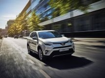 Toyota RAV4 entered the TOP-10 of Russian bestsellers in February