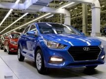 Production of cars remained at the last year's level in February