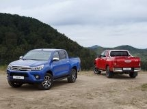 Toyota Hilux kept the title of leader in the pickup segment in February