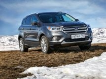 In Russia, it was produced a 50-thousand crossover Ford Kuga