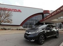 The production of the new Honda CR-V for Russia began