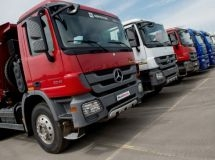 The market of trucks in March grew by 40%