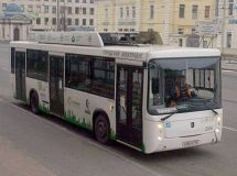 Electric Bus KAMAZ will be tested in the Leningrad Region