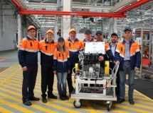 In Russia, it produced the 30-thousandth engine Ford