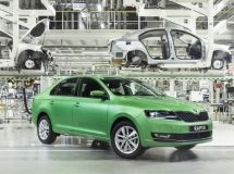 In Russia, the production of the updated SkodaRapid