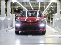 In Russia, it was started the mass production of the new KIA Rio