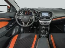 AvtoVAZ presented the interior of the estate car LADA Vesta SW and SW Cross