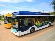In Volgograd, it was presented the first electric bus Volgabus