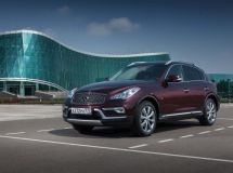 Infiniti increased sales by 17% in Russia in July