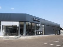 Lexus opened the first dealer center in Stavropol