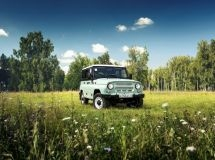 The UAZ presented the jubilee special version of the off-road vehicle