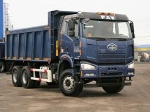 FAW will present the updated dump trucks on COMTRANS 2017