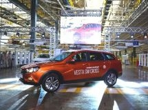 Production of LADA Vesta SW and Vesta SW Cross started