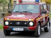 Off-road vehicles LADA 4х4 entered service in the police and fire protection of Hungary