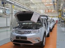 Localization of Geely Atlas crossover may exceed 50% in 2018