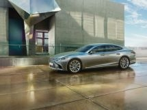 The new Lexus LS is available for order in Russia