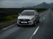 The most popular car in the North Caucasus is LADA Vesta
