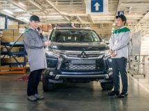 Mitsubishi resumed the production of Pajero Sport in Russia