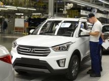 St. Petersburg plant Hyundai will increase the production of crossover Creta in 2018