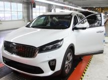 Avtotor launched production of the updated KIA Sorento Prime
