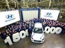 Hyundai's St. Petersburg plant has produced a 1.5 millionth car