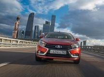 LADA Vesta became the best-selling model in Russia in January for the first time